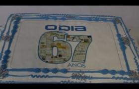Direção e colaboradores comemoram 67 anos de fundação do jornal O Dia