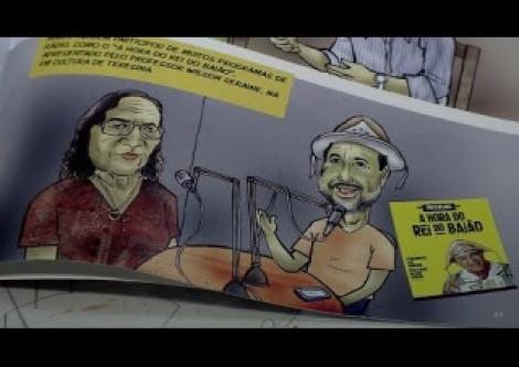 Cantora e compositora Maria da Inglaterra vira livro em quadrinhos