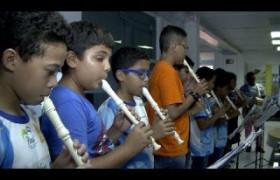 Jovens do projeto Música Para Todos homenageiam jornalistas do O Dia