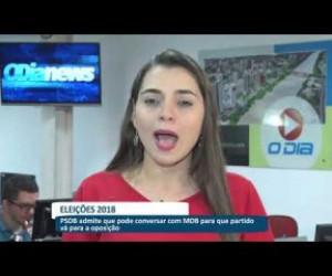 TV O Dia - Boletim de notícias da manhã (bloco 01) 18 07 18