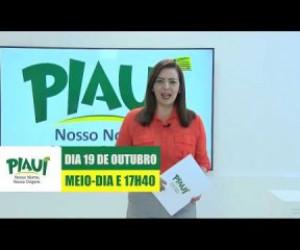 TV O Dia - PIAUI NOSSO NOME NOSSA ORIGEM 19 10 18