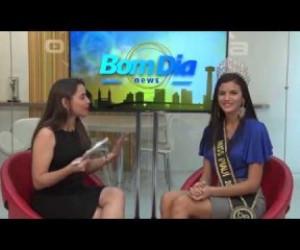 TV O Dia - BOM DIA NEWS bl2 - CORTE ÁRVORES DO SACI E ENTREVISTA COM A MISS PIAUÍ 20 02