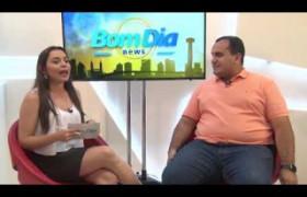BOM DIA NEWS 18 04 BL 02 Georgiano Neto fala de pretensões políticas