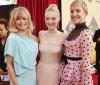 Após 'luto' no Globo de Ouro, atrizes vestem tons de rosa e paetês no SAG