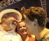 Ex-presidenta Dilma discursa em ato pró-Lula em Porto Alegre
