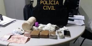 'Wolverine' é preso por tráfico de drogas e posse ilegal de arma