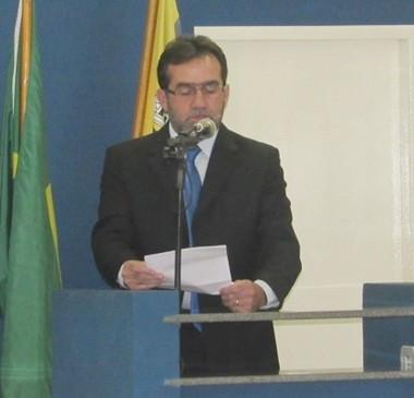 Prefeito participa da abertura do ano legislativo da Câmara Municipal