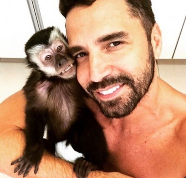 Latino é criticado por ONG após a morte do seu macaco Twelves