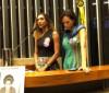 Mulher e irmã de Marielle participam de sessão solene na Câmara