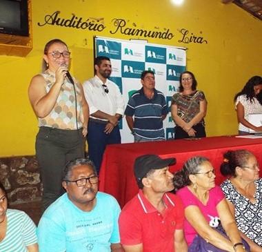 Prefeitura realiza atividades com beneficiários de cisternas
