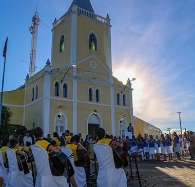 Católicos de Cocal celebram 70 anos da Igreja Matriz