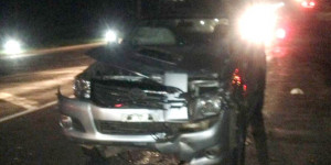 Acidente entre moto e Hilux deixa dois mortos na saída de Teresina