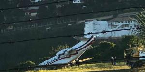 Avião de DJ Alok sai da pista em aeroporto de Juiz de Fora
