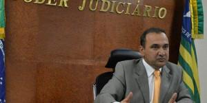 Com 17 votos, Erivan é reconduzido à presidência do Tribunal de Justiça