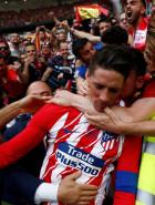 Fernando Torres se despede do Atlético de Madrid