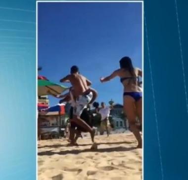 'Gesto obsceno' de casal em Fortaleza termina em confusão