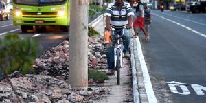 Intervenções na mobilidade urbana em Teresina penalizam espaço para ciclistas