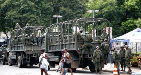 Operação das Forças Armadas e polícia não tem prazo para acabar
