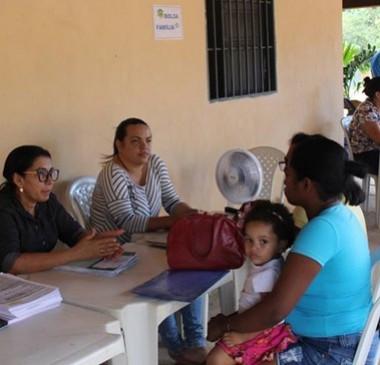 Zona rural recebe atendimentos do Programa Saúde e Cidadania