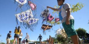 Festival de Pipas enfeita céu do Parque Lagoas do Norte e diverte crianças e adultos