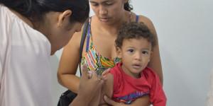 Apenas 7% das crianças foram vacinadas contra poliomielite e sarampo, diz FMS