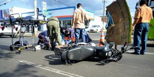 HUT: 84% dos atendimentos de acidente de trânsito envolvem motocicletas