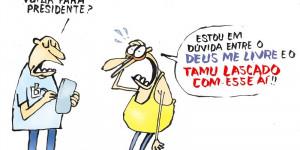 'Opções' | Confira a charge da edição do Jornal O Dia desta quinta-feira (20)