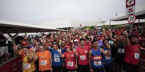 Corrida de rua reúne centenas de atletas na luta contra a Pólio