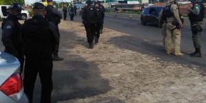 Polícia monta barreiras em pontes que ligam THE a Timon para coibir roubos