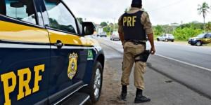 Polícia Rodoviária Federal pega detento da Major César fugindo em táxi na BR-343