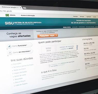 Inscrições para o Sisu 2019 iniciam nesta terça-feira (22)