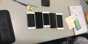 Polícia Militar prende dupla com Iphones roubados e R$ 400 em notas falsas
