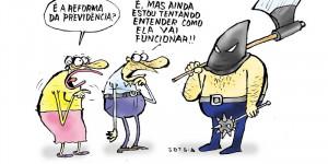 Confira a charge do Jota A. da edição do Jornal O Dia desta sexta-feira (20)