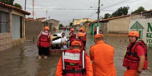 Em estado de emergência, Parnaíba registra mais chuvas no fim de semana