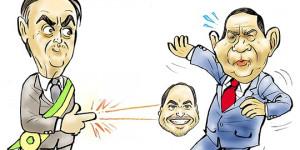 Confira a charge do ilustrador Jota A publicada nesta quarta no Jornal O Dia
