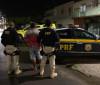 Acusado de homicídio no interior Piauí é preso pela PRF em Alagoas