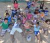 Clubes oferecem atividades lúdicas e esportivas durante colônia de férias
