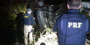 BR 316: Caminhoneiro morre após colidir com árvore em Demerval Lobão