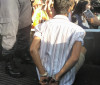Jovem é preso durante cerimônia do corte do bolo de Teresina