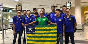 Piauienses embarcam para Campeonato Brasileiro de Seleções em Maceió