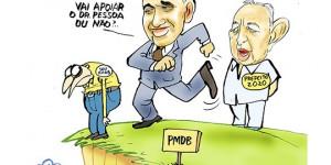 Confira a charge do ilustrador Jota A publicada neste sábado no Jornal O Dia