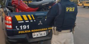 PRF recupera três motocicletas em menos de 24 horas no PI