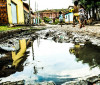 Água desperdiçada daria para comprar um apartamento por dia