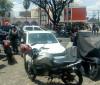 Policial troca tiros com bandidos em frente ao Banco do Brasil no Centro