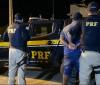 PRF cumpre mandado de prisão na BR 316, em Valença