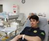 Agentes da PRF doam sangue em campanha contra o câncer