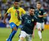 Com gol de Messi, Argentina vence Brasil em amistoso
