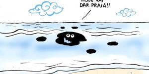 Confira a charge de Jota A publicada na edição desta quinta do Jornal O Dia