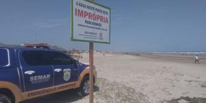 Em 48 horas, três praias piauienses são consideradas impróprias para banho