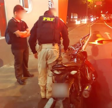 Motocicleta com R$ 25 mil em multas é apreendida em Teresina